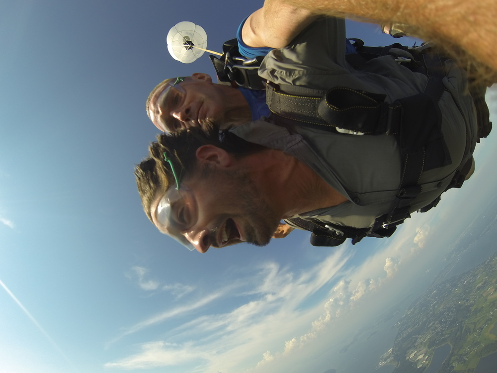Sam descending from 10,000 Feet
