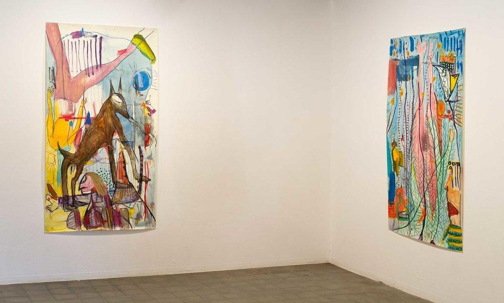Installation View at Barbur Gallery