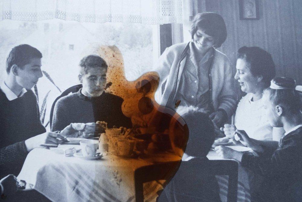 Turkish Coffe on German Table