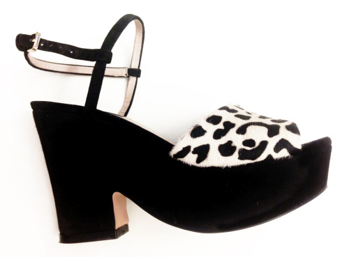 Zara leopard print platforms, because my heart belongs to the 90s.