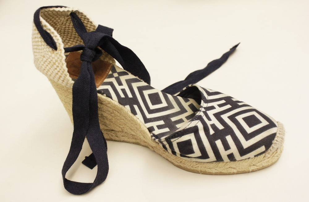 Tory Burch wedge espadrilles from the eBays.