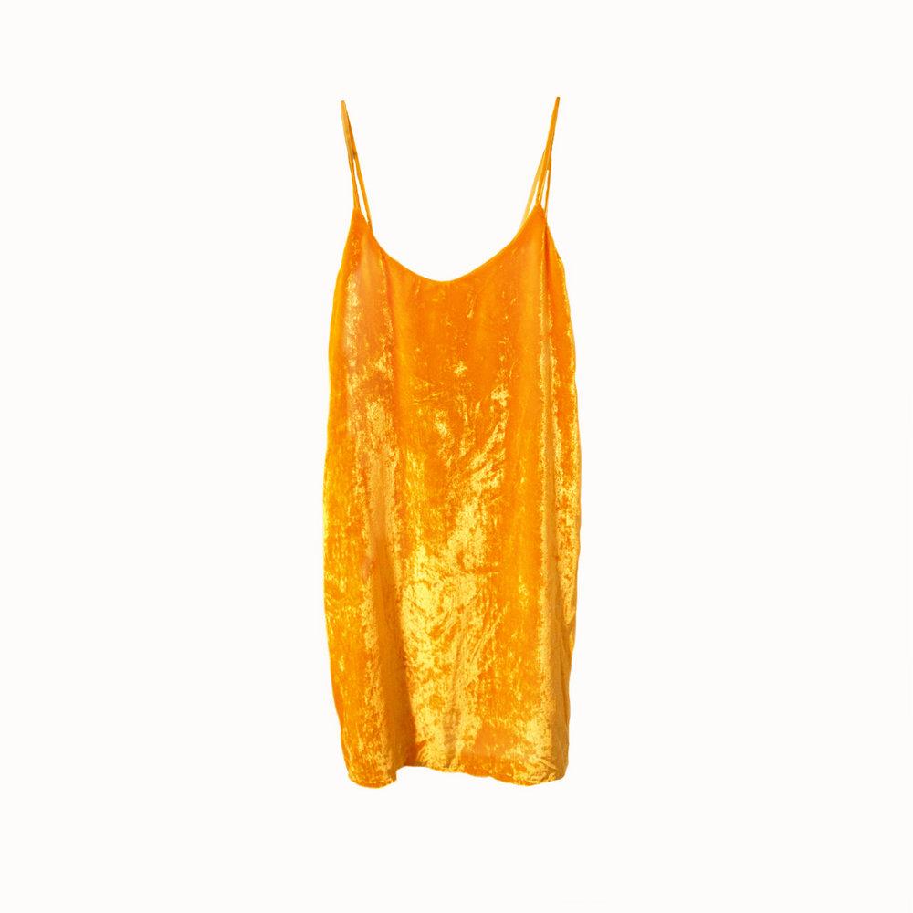 Bright Yellow Velvet Dress.jpg