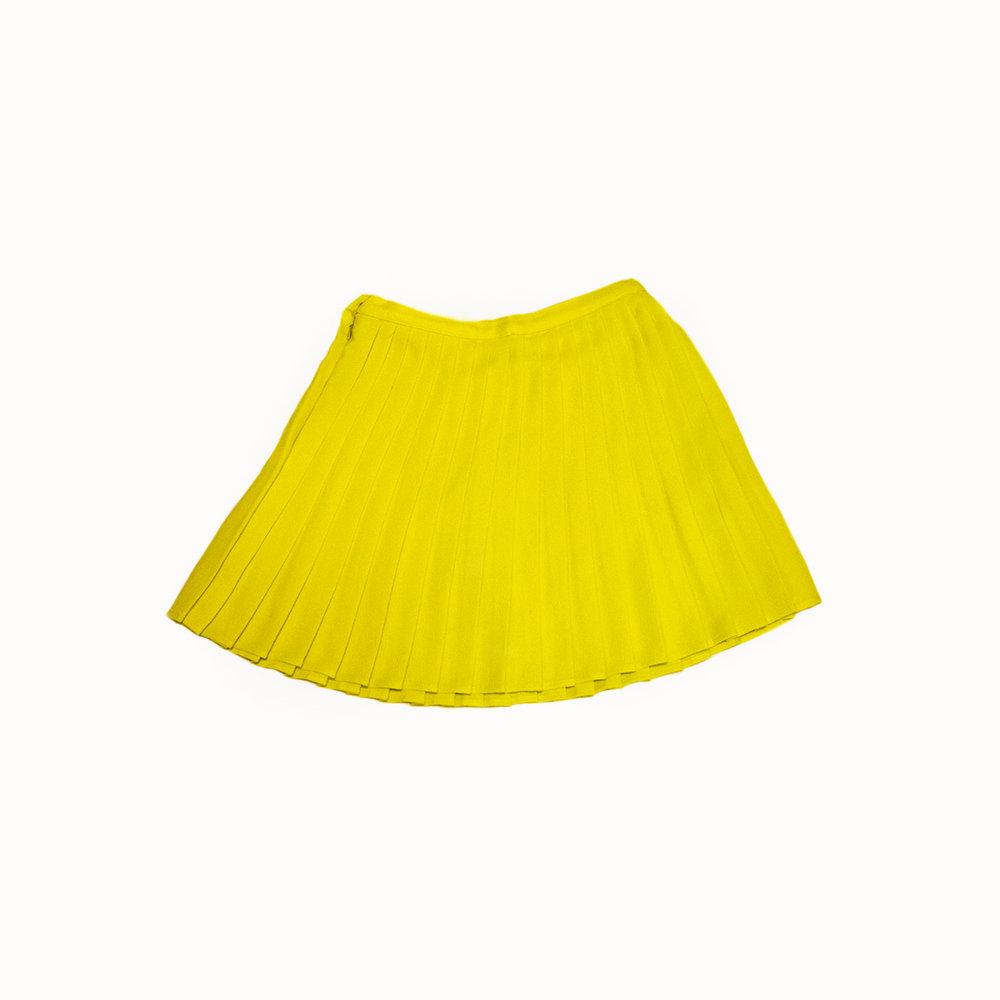 neon green pleated skirt.jpg