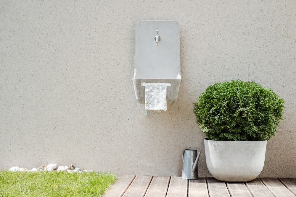 Concrete Garden - Concrete Sink and Planter 4in1