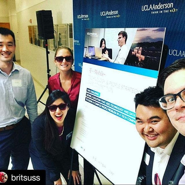 #Repost @britsuss with @repostapp ・・・ That's a wrap on @uclaanderson 's first human capital case competition - @tmobilecasecomp ☑️ 😎 @htbaanderson #BeMagenta #whymba