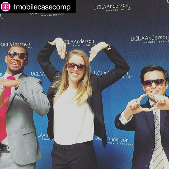 Apparently they we trying to spell out 'T-Mobile' - let's hope they faired better when it came to the @tmobilecasecomp #bemagneta #WhyAnderson  @amy_elizzabeth #fail but we love you anyway!