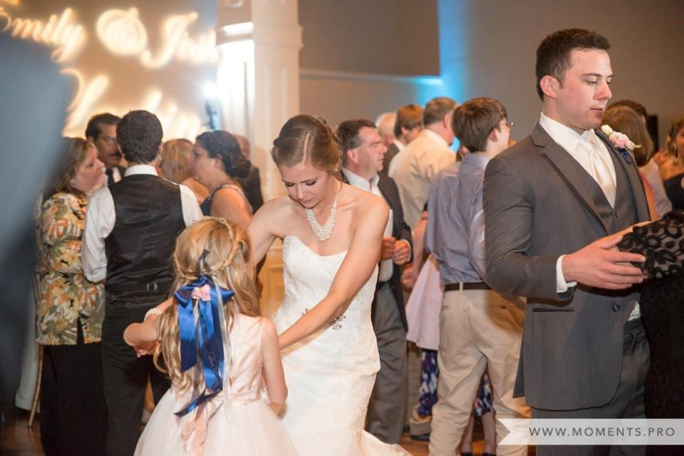 Bride Dancing with Flower Girl.jpg