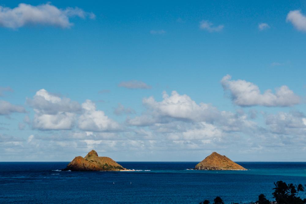 Nā Mokulua: Moku Nui and Moku Iki