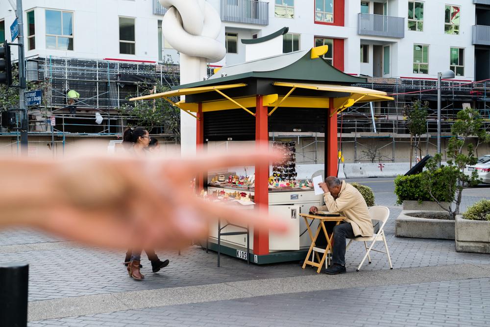 Little Tokyo (feat. Paulina's hand)