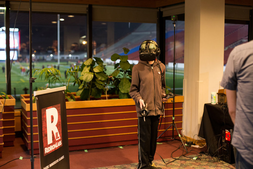 Testing Red Iron Labs Virtual Reality Gear