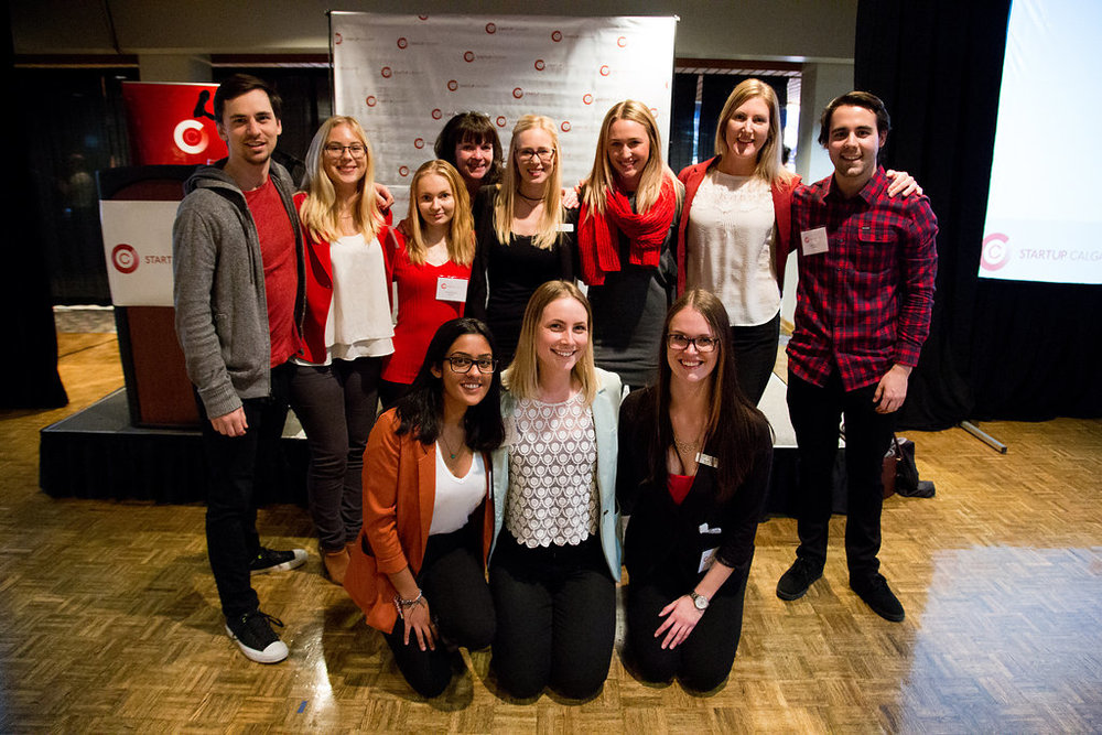 Startup Calgary Launch Party 2016 Volunteers