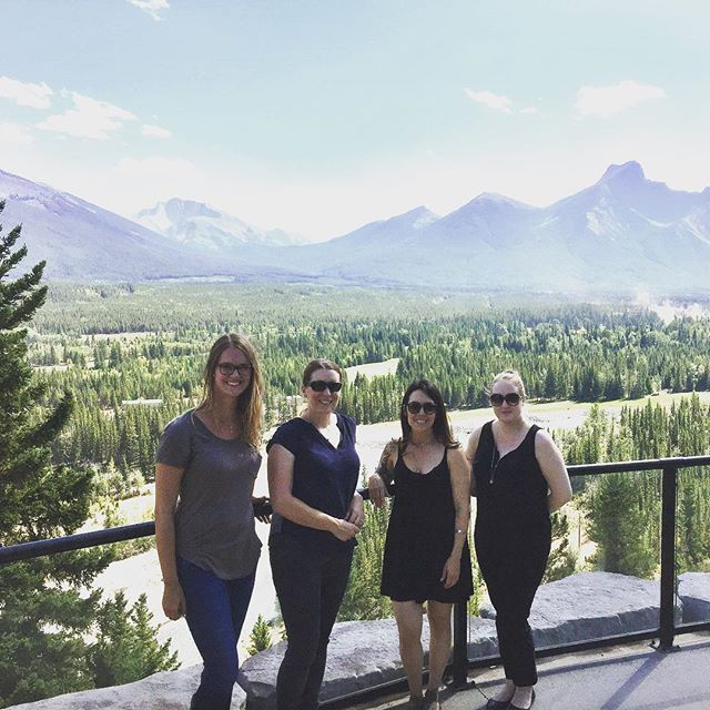 Spent the day exploring conference venues in Canmore & Kananaskis. Can't complain about a Monday filled with mountain views and great company 💯 . . . . . #yyc #yycliving #yycnow #capturecalgary #captureyyc #calgarylife #eventprofs #yycevents #yycbusiness #hustle #girlboss #womenentrepreneurs