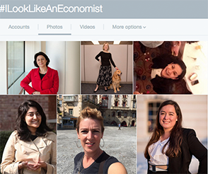 Just a few of the awesome women from the #ILookLikeAnEconomist hashtag on Twitter.