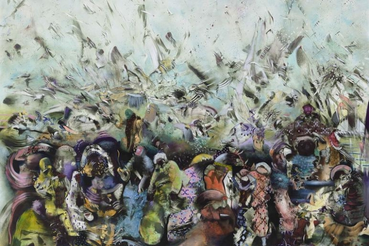 Sperone Westwater                                              Ali Banisadr: Trust In The Future                                                      May 4 – June 24, 2017                                                             New York, USA