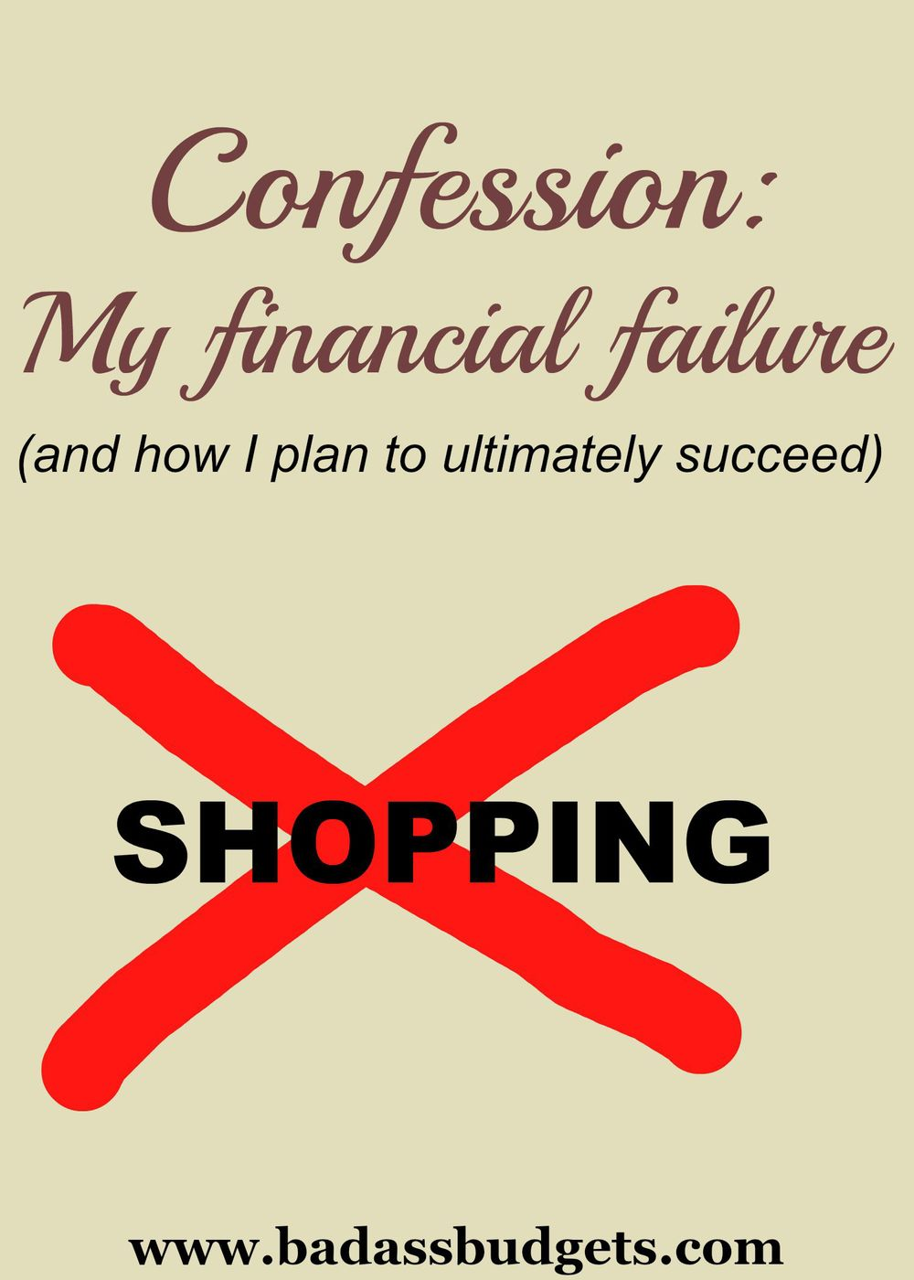 Confession_Shopping Ban