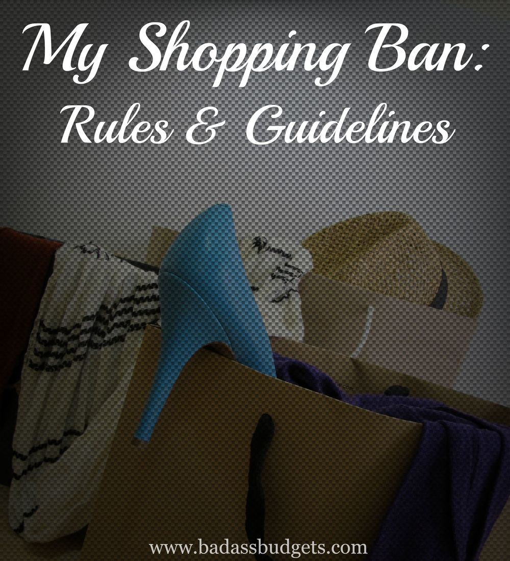 Shopping Ban Rules