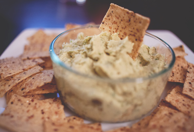 Lemon & Herb Hummus