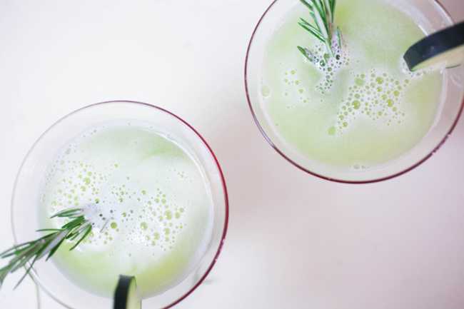 Rosemary Cucumber Lemonade - Benner Fit