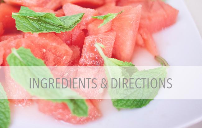 ingredientsdirections