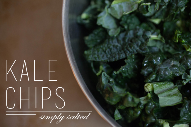Simply Salted Kale Chips on Benner Fit