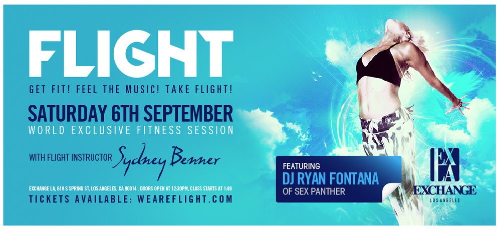 Flight Banner | Benner Fit & Flight Fitness