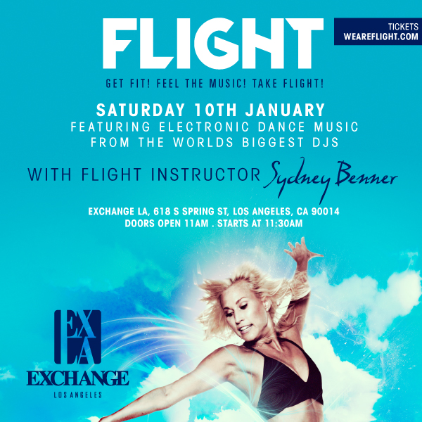 Take FLIGHT | January 10th | wantickets.com/weareflight