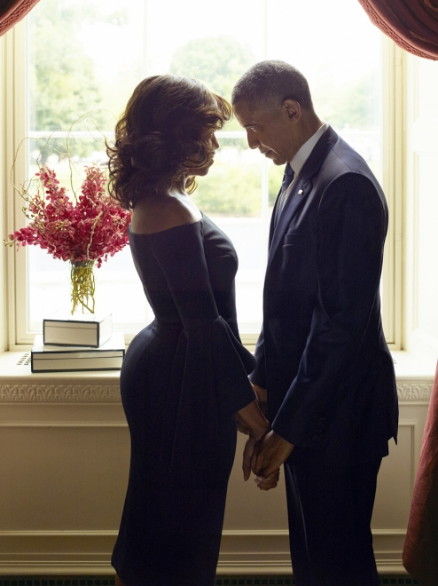 The President and First Lady of the United States