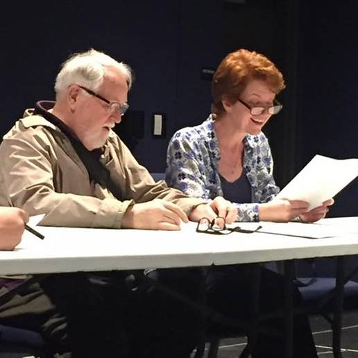 Reading new work with the amazing Dakin Matthews at the Antaeus Playwrights Lab