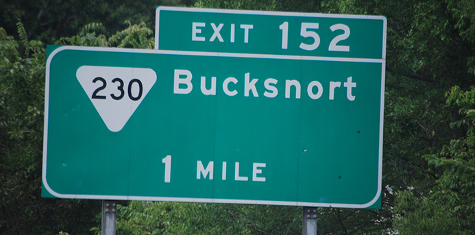 Wonderfully Weird Southern Town Names