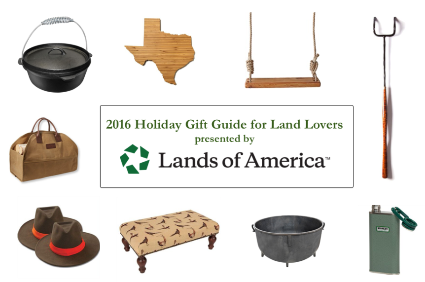 Holiday Gift Ideas for Land Lovers