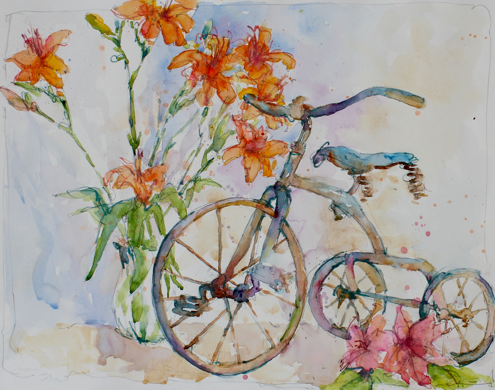 Still Life with Bike
