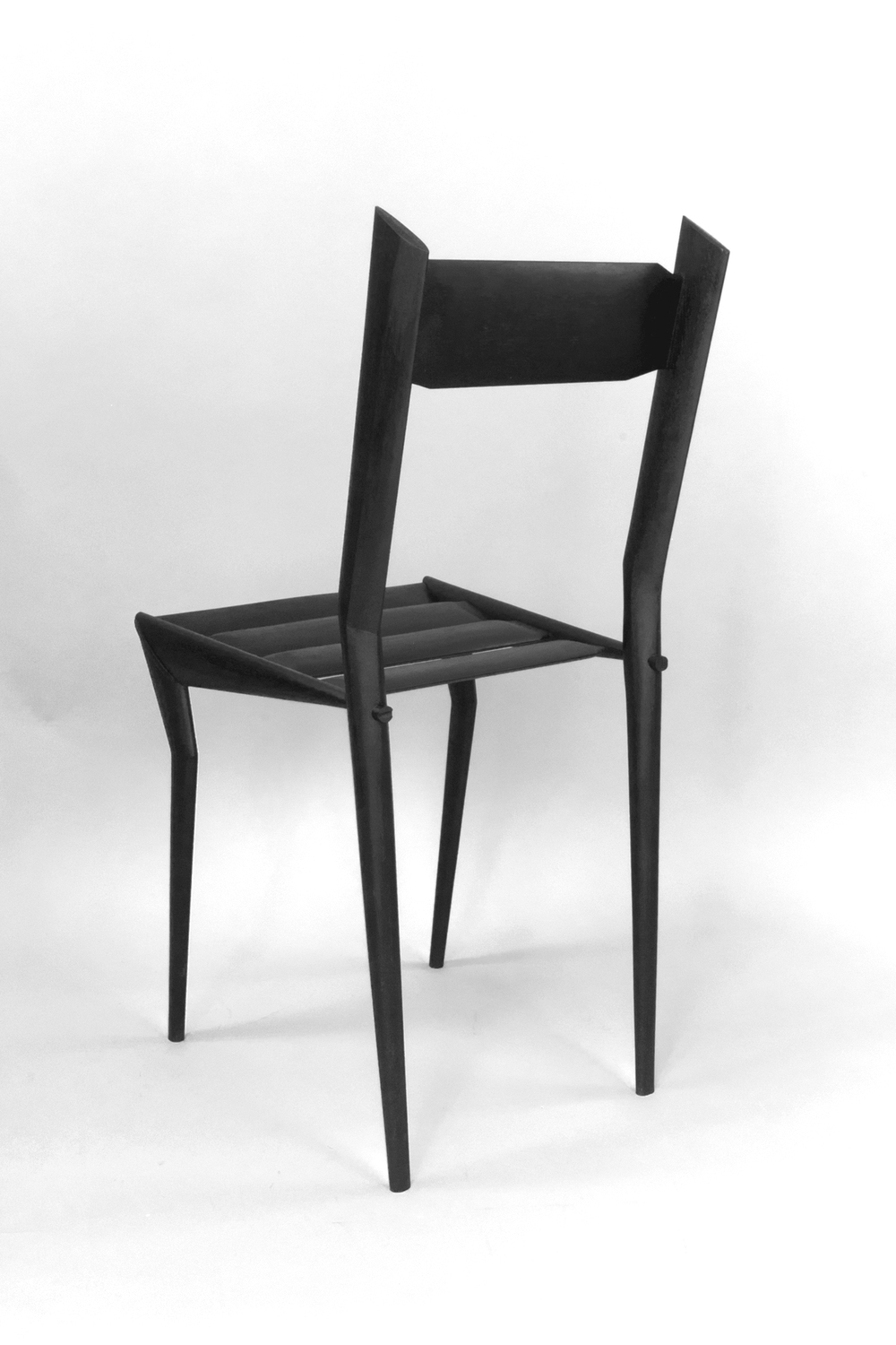 Black Chair in Wood, 2013.