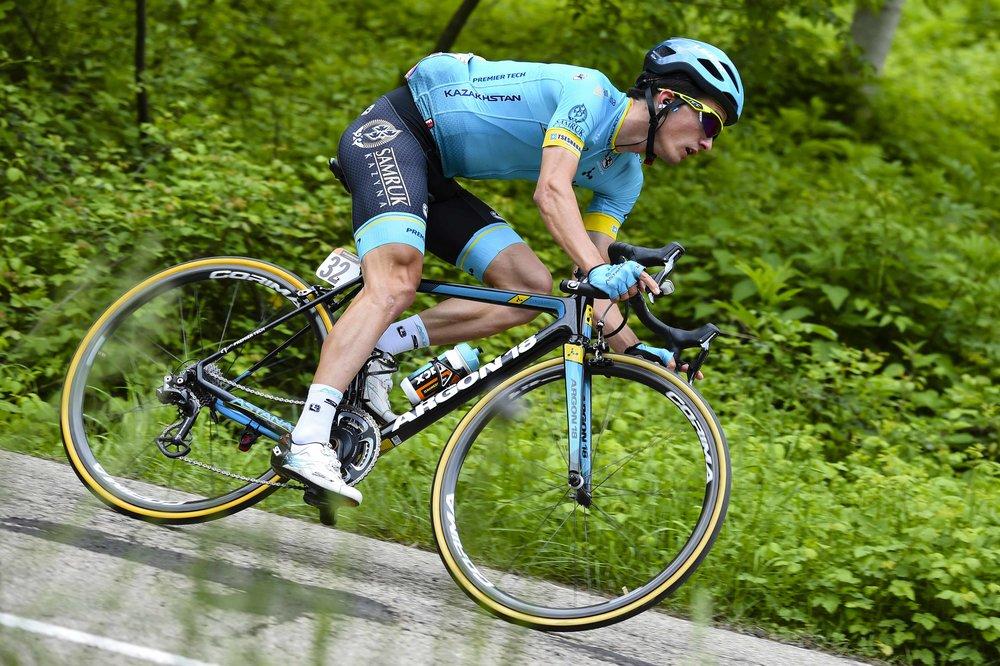 Giro d'Italia 2018 - 101th Edition - 10th stage Penne - Gualdo Tadino 239 km -  - 15/05/2018 - Pello Bilbao (ESP - Astana Pro Team) - photo Dario Belingheri/BettiniPhoto©2018