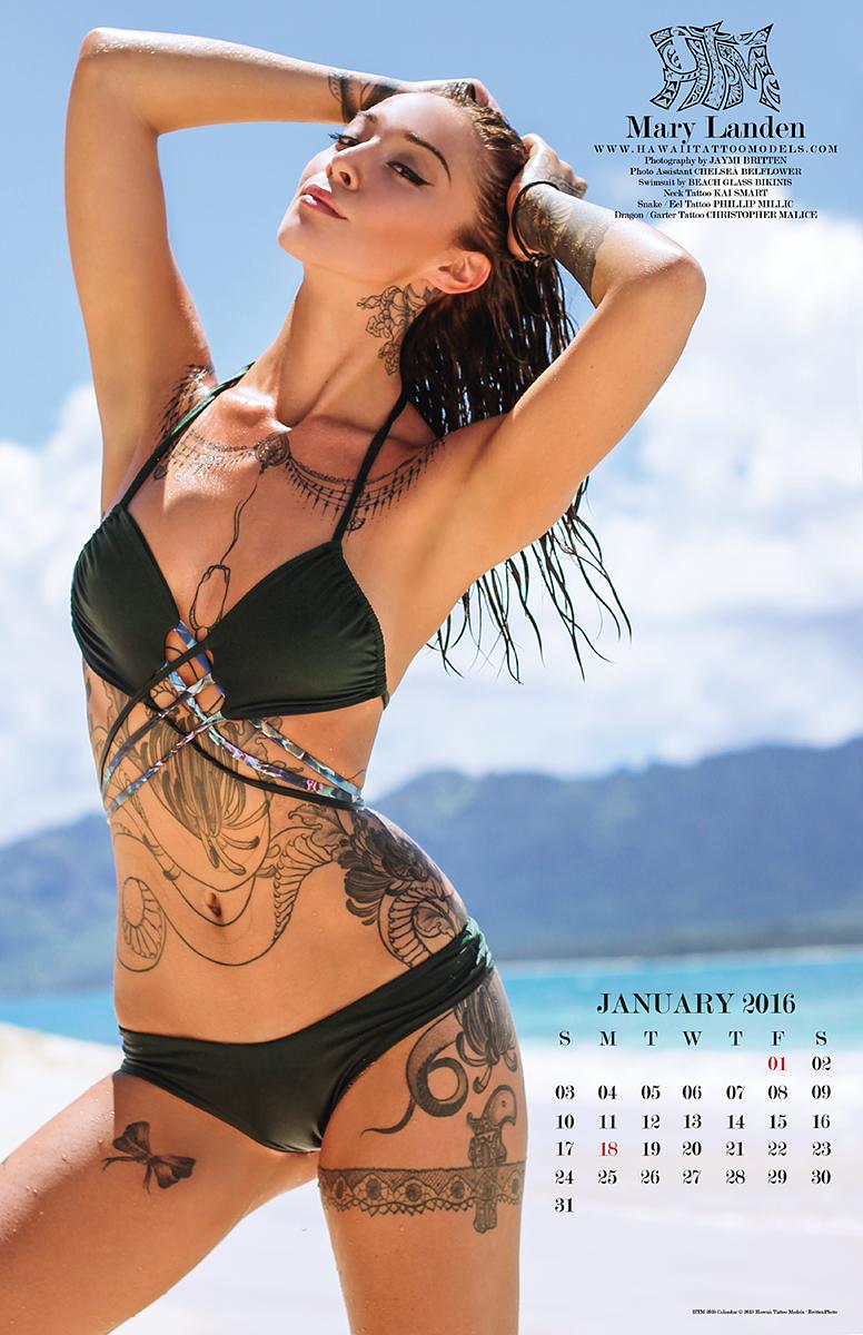 Model: Mary Landen