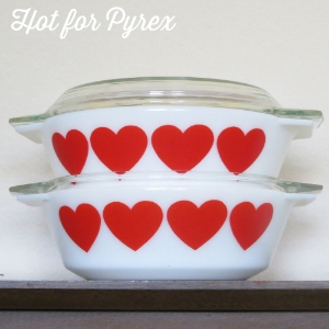 "1971 JAJ ""Hearts""  -  This pattern seems to only be found in Denmark and matches enamelware that is also found in Denmark."