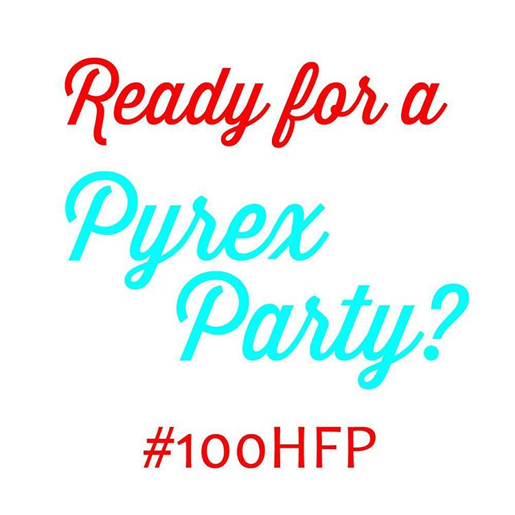 Tomorrow is the big day! I can't wait to meet all of the Pyrex lovers from the Pacific Southwest. #100hfp #pyrex100 #pyrexlove #htfpyrex #pyrexporn #love #partay #pyrexpassion #hotforpyrex