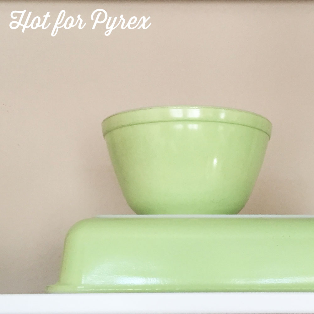 401 Lime Green Mixing Bowl