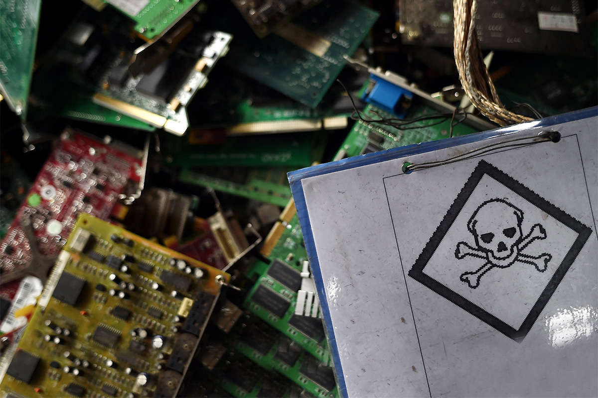 E Waste Chokes Southeast Asia Basel Action Network Scrap Circuit Boards Images A Stack Of Computer At Computing Trading One Malaysias Leading Private Electronics