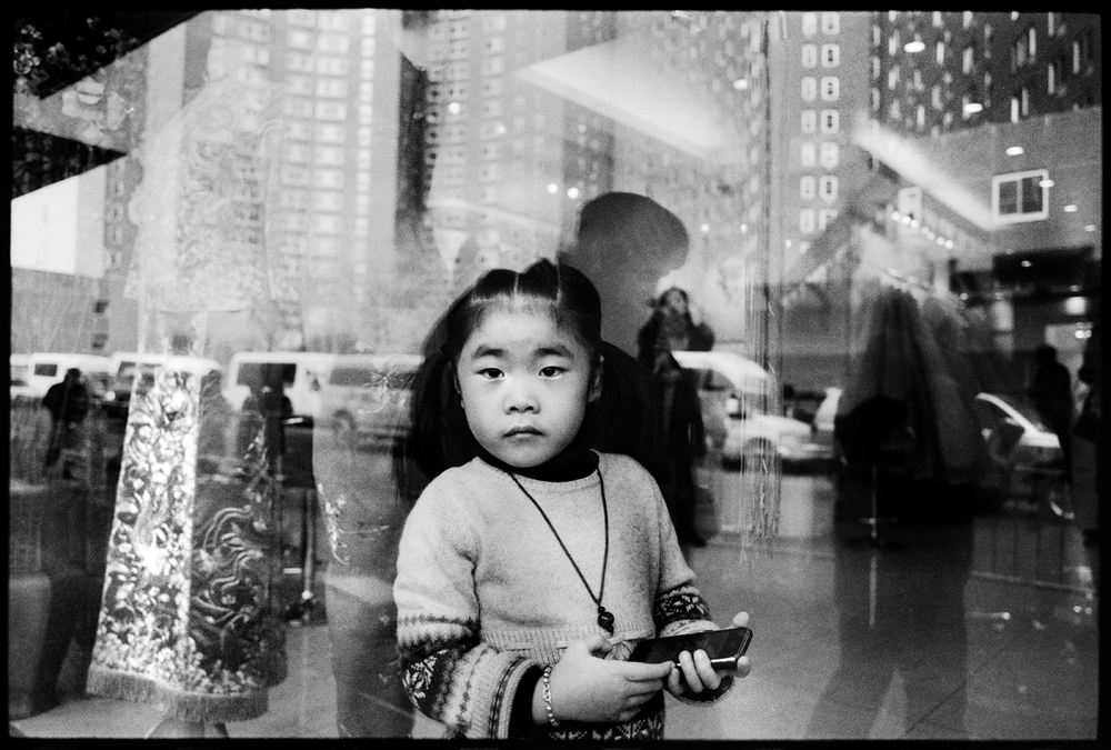 A girl. Chinatown, NYC.