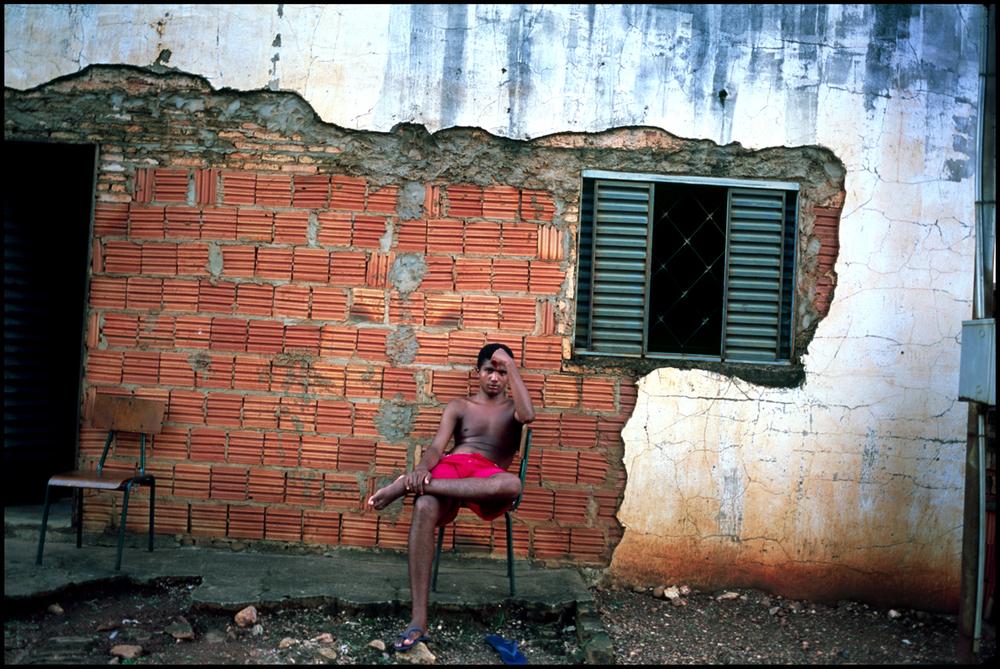 A boy. Pocone, Brasil.