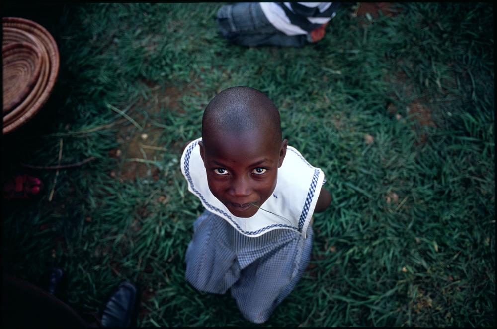 A girl. Uganda.