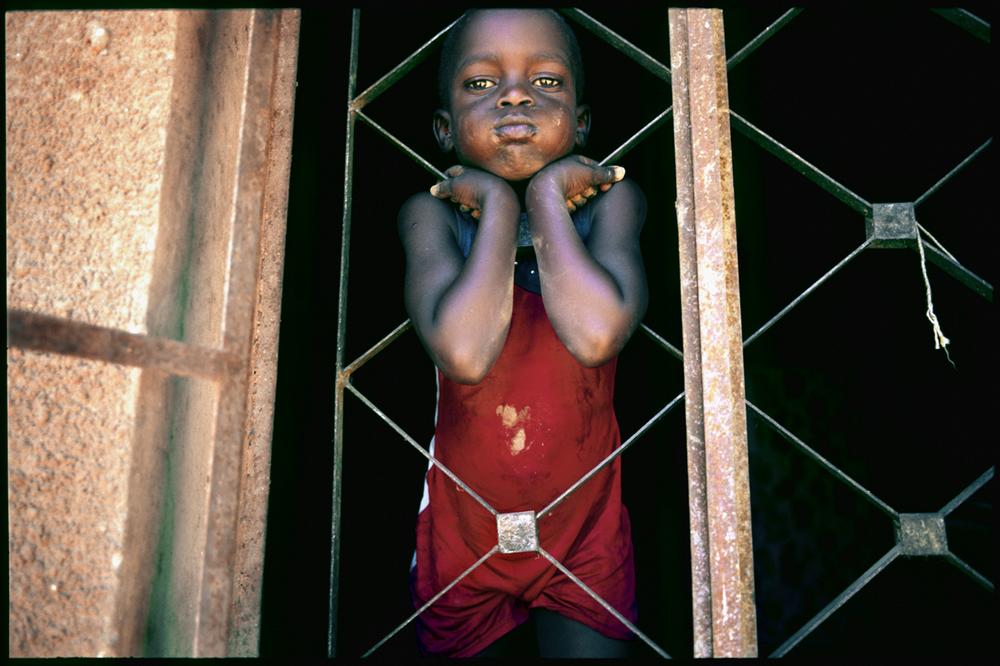 A boy. Uganda.