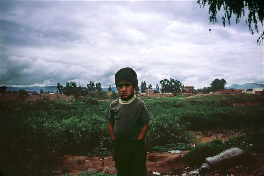 A boy. Santa Cruz, Bolivia.