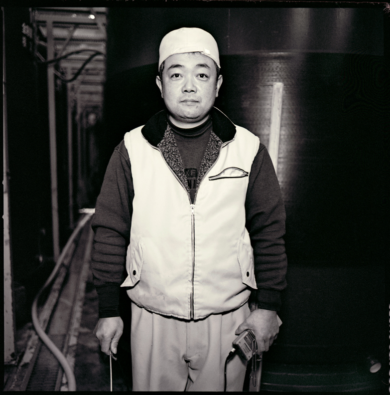 Yamamoto Hideki is the son of Yamamoto Toji (head brewmaster).