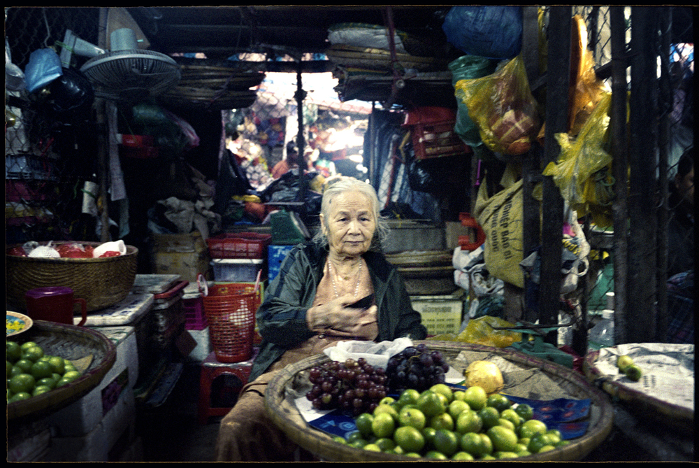 Village market, Mekong Delta.