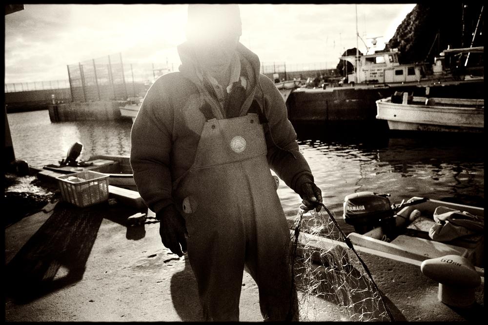 Fisherman. Ada, Okinawa