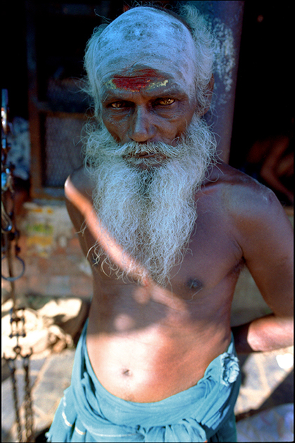 Sadhu. Madras, India.