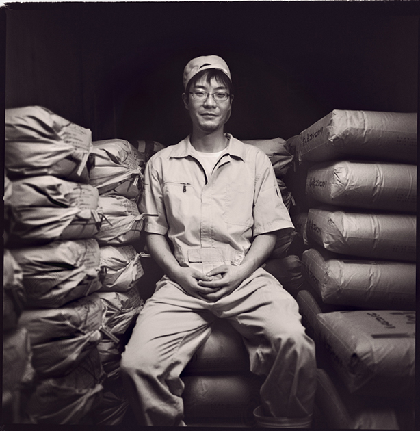 Yamada Hirofumi, this will be is his fifth year at Tedorigawa brewery.