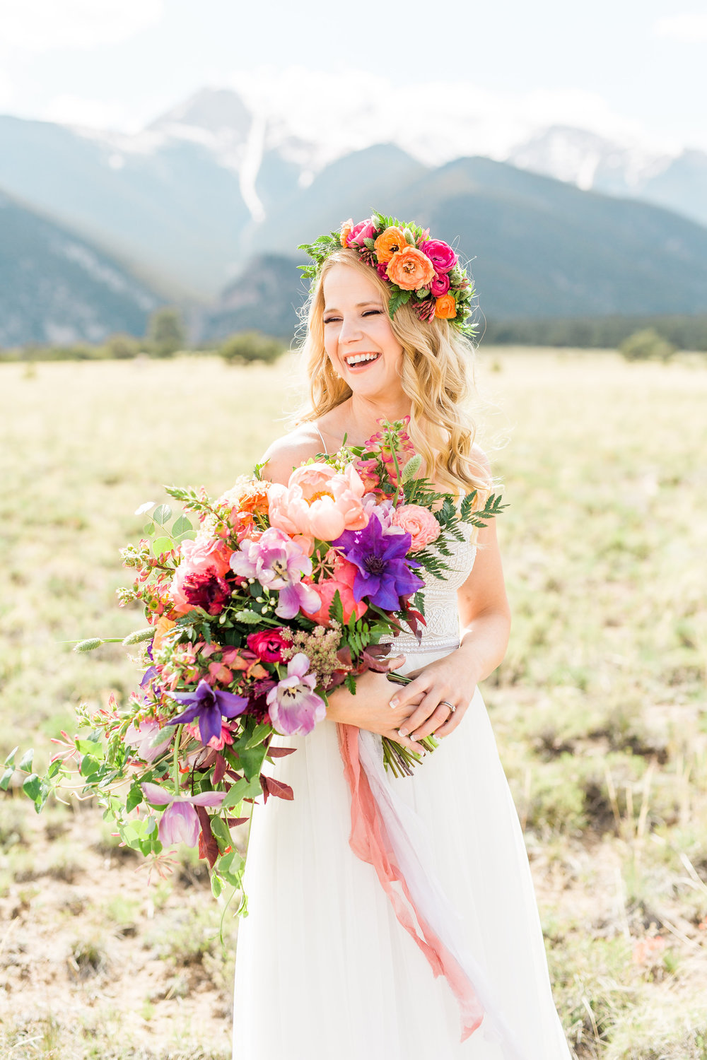 Emma Lea Floral - Sarah Jayne Photography- Colorado Mountain Wedding