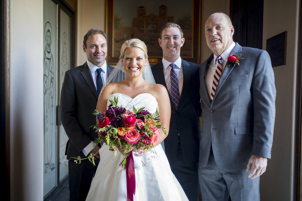 Emma Lea Floral- David Lynn Photography- Downtown Denver Wedding